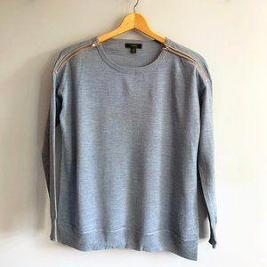 J.Crew Wool Box-cut Sweater